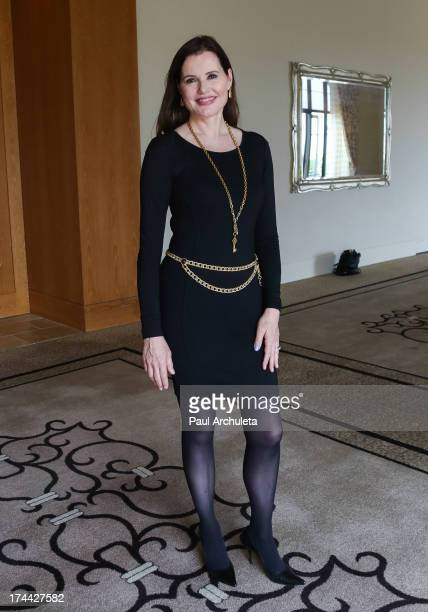 Actress Geena Davis attends the 2013 New Executive Leaders Forum at the Terranea Resort on July 25 2013 in Rancho Palos Verdes California