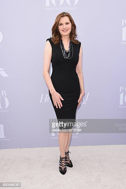 Actress Geena Davis attends the 24th annual Women in Entertainment Breakfast hosted by The Hollywood Reporter at Milk Studios on December 9 2015 in...