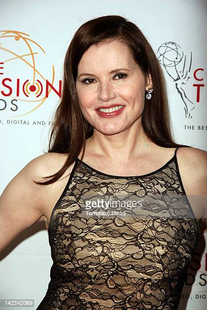 Actress Geena Davis attends The 33rd Annual College Television Awards held at the Renaissance Hollywood Hotel on March 31 2012 in Hollywood California