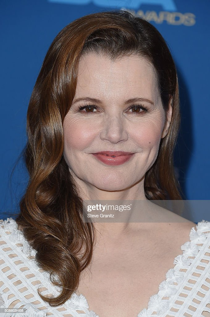 Actress Geena Davis attends the 68th Annual Directors Guild Of America Awards at the Hyatt Regency Century Plaza on February 6, 2016 in Los Angeles, California.
