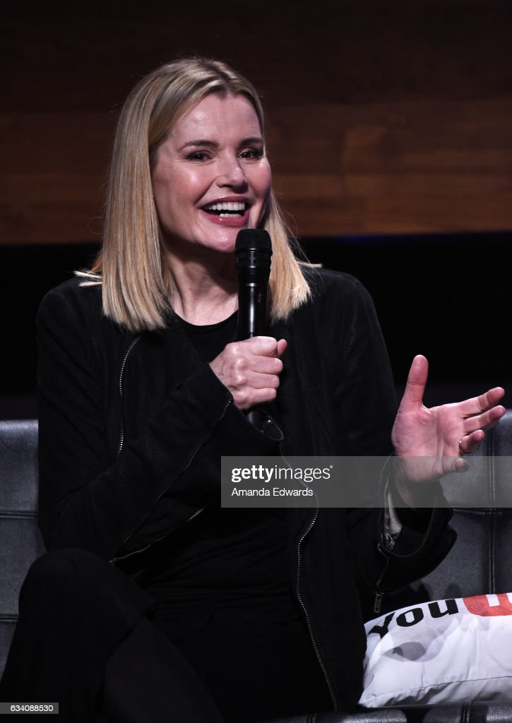 Actress Geena Davis attends the Ford Motor Company and the Geena Davis Institute on Gender in Media's YouTube #ShesGotDrive content campaign launch at YouTube Space LA on February 6, 2017 in Los Angeles, California.