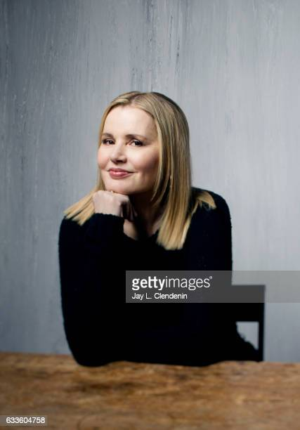 Actress Geena Davis from the film Marjorie Prime is photographed at the 2017 Sundance Film Festival for Los Angeles Times on January 24 2017 in Park...