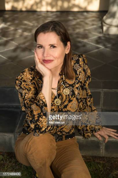 Actress Geena Davis is photographed for Los Angeles Times on July 22 2020 in Pacific Palisades California PUBLISHED IMAGE CREDIT MUST READ Mel...