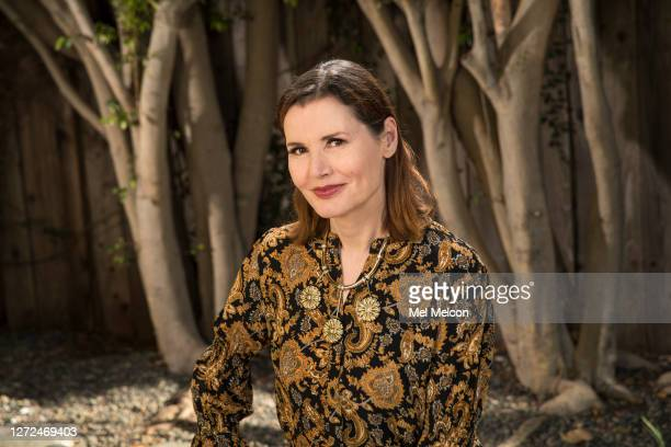 Actress Geena Davis is photographed for Los Angeles Times on July 22, 2020 in Pacific Palisades, California. PUBLISHED IMAGE. CREDIT MUST READ: Mel...