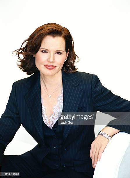 Actress Geena Davis is photographed for TV Guide Magazine in 2005 in Los Angeles, California.