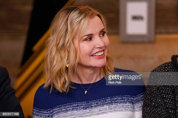 Actress Geena Davis of Marjorie Prime attends The IMDb Studio featuring the Filmmaker Discovery Lounge presented by Amazon Video Direct Day Four...