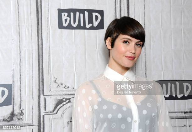 Actress Gemma Arterton attends Build Series to discuss 'Their Finest' at Build Studio on March 23 2017 in New York City