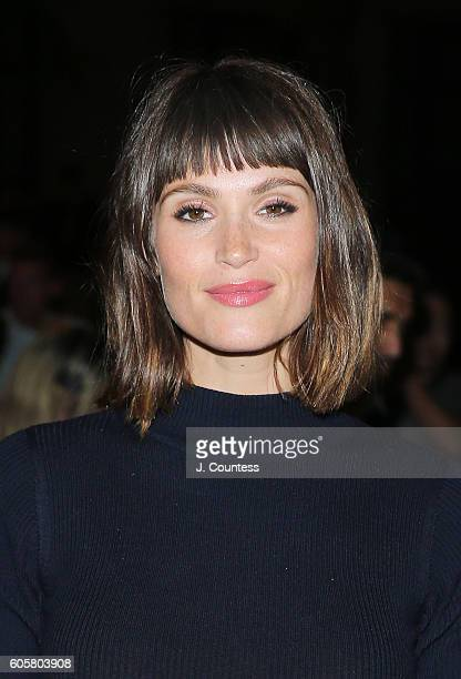 Actress Gemma Arterton attends the 2016 Toronto International Film Festival Premiere of The Girl With All The Gifts at the Ryerson Theatre on...