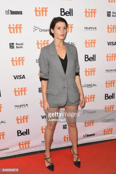 Actress Gemma Arterton attends 'The Escape' premiere during the 2017 Toronto International Film Festival at TIFF Bell Lightbox on September 12 2017...
