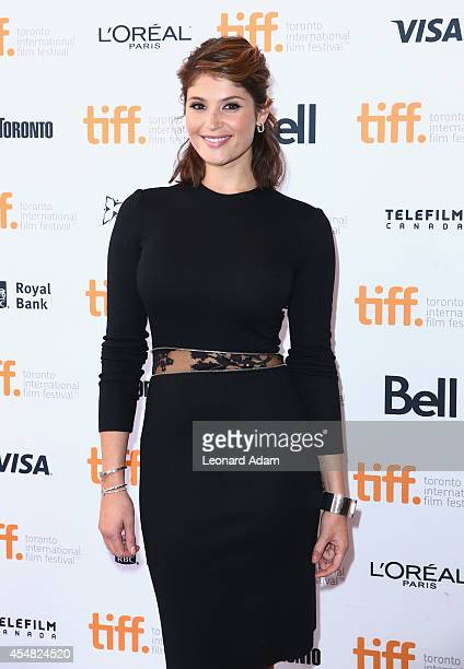 Actress Gemma Arterton attends the Gemma Bovery Premiere during the 2014 Toronto International Film Festival at Winter Garden Theatre on September 6...