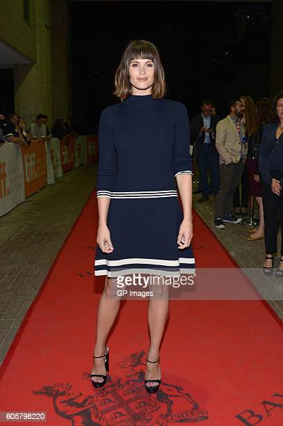 Actress Gemma Arterton attends 'The Girl With All The Gifts' premiere during 2016 Toronto International Film Festival at Ryerson Theatre on September...