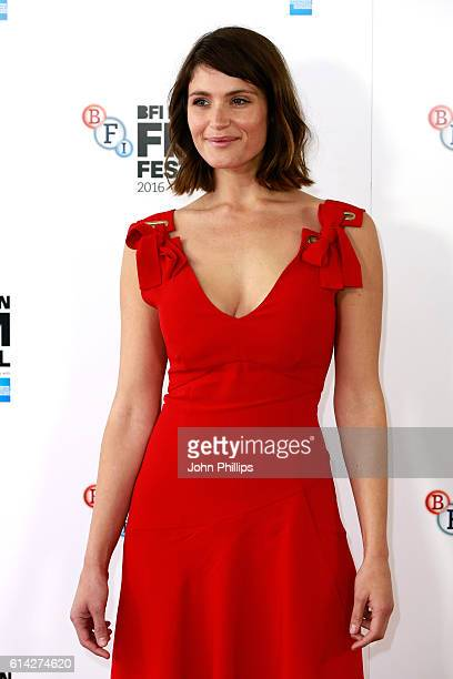 Actress Gemma Arterton attends 'Their Finest' photocall during the 60th BFI London Film Festival at The Mayfair Hotel on October 13 2016 in London...