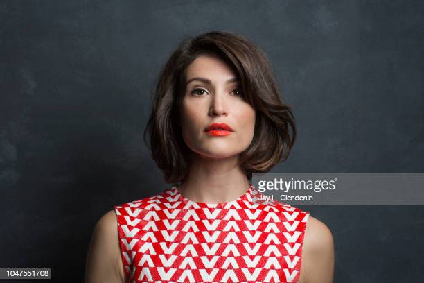 Actress Gemma Arterton, from 'Vita and Virginia' is photographed for Los Angeles Times on September 11, 2018 in Toronto, Ontario. PUBLISHED IMAGE....