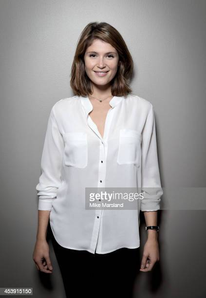 Actress Gemma Arterton is photographed at the BFI Southbank introducing the film that inspired her as part of the BFI Screen Epiphanies series a...