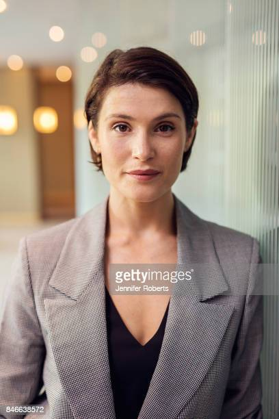 Actress Gemma Arterton of 'The Escape' is photographed at the 2017 Toronto Film Festival on September 13, 2017 in Toronto, Ontario.