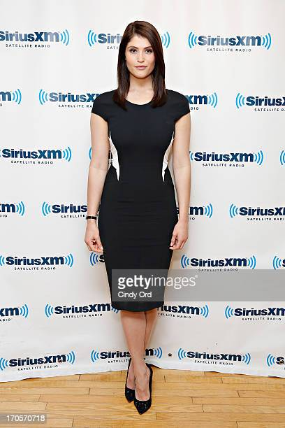 Actress Gemma Arterton visits the SiriusXM Studios on June 14 2013 in New York City