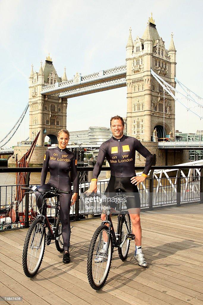 Gemma Atkinson Promotes ' On Yer Bike London' Photos and ...