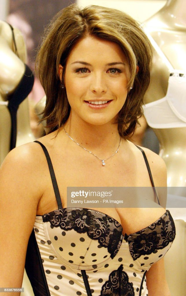 Actress Gemma Atkinson in Ultimo lingerie at Debenhams in Silverburn ... 8fe30ed9f