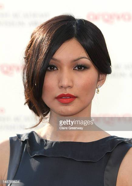 Actress Gemma Chan attends The Arqiva British Academy Television Awards 2012 at The Royal Festival Hall on May 27 2012 in London England