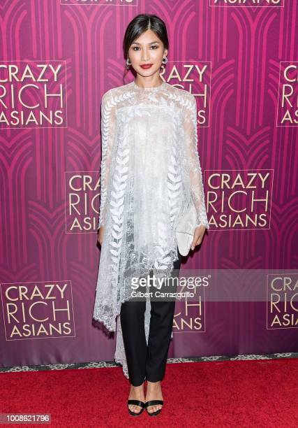 Actress Gemma Chan attends the 'Crazy Rich Asians' Philadelphia screening at The Prince Theater on July 31 2018 in Philadelphia Pennsylvania