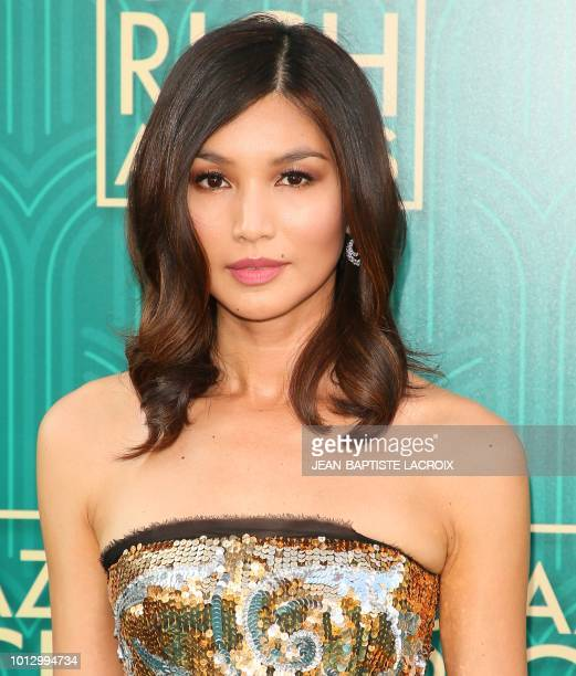 Actress Gemma Chan attends the premiere of Warner Bros Pictures' 'Crazy Rich Asians' in Hollywood California on August 7 2018