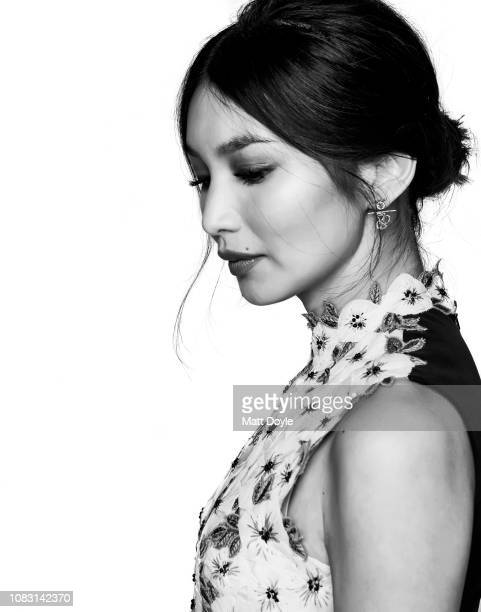 Actress Gemma Chan poses for a portrait at The National Board of Review Annual Awards Gala on January 8 2019 at Cipriani 42nd Street in New York City