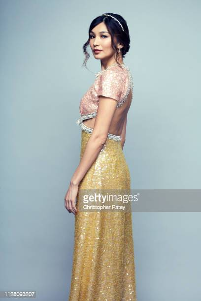 Actress Gemma Chan poses for a portrait on February 23 2019 at the 2019 Film Independent Spirit Awards in Santa Monica California