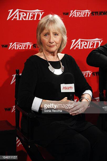 Actress Gemma Jones attends Day 2 at the Variety Studio at Holt Renfrew during the 35th Toronto International Film Festival at Holt Renfrew Toronto...
