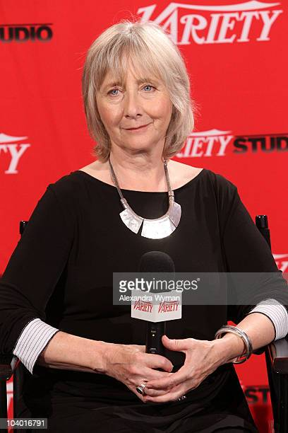 Actress Gemma Jones attends Day 2 at the Variety Studio at Holt Renfrewduring the 35th Toronto International Film Festival on September 11 2010 in...
