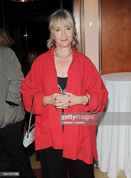 Actress Gemma Jones attends the after party for a screening of You Will Meet a Tall Dark Stranger hosted by The Cinema Society and BlackBerry Torch...