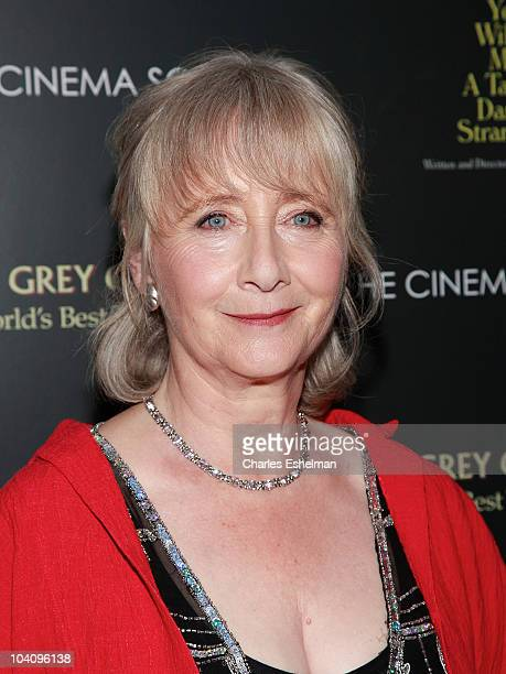 Actress Gemma Jones attends the Cinema Society Sony Pictures Classics with Blackberry Torch present a screening of You Will Meet a Tall Dark Stranger...