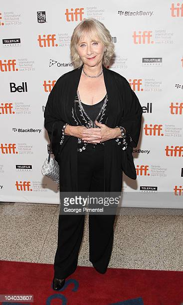 Actress Gemma Jones attends the You Will Meet A Tall Dark Stranger Premiere held at the Visa Screening Room At The Elgin Theatre during the 35th...