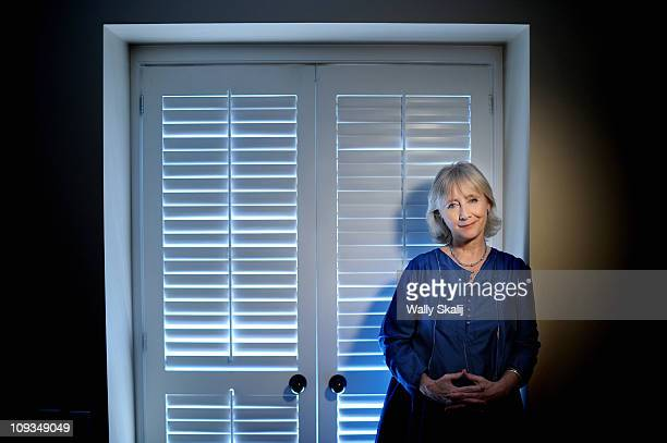 Actress Gemma Jones poses for a portrait session for the Los Angeles Times on September 16 Los Angeles California Published Image CREDIT MUST READ...