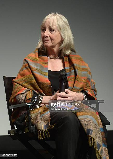 Actress Gemma Jones speaks onstage during Tribeca Talks After The Movie NOW In the Wings On A World Stage during the 2014 Tribeca Film Festival at...