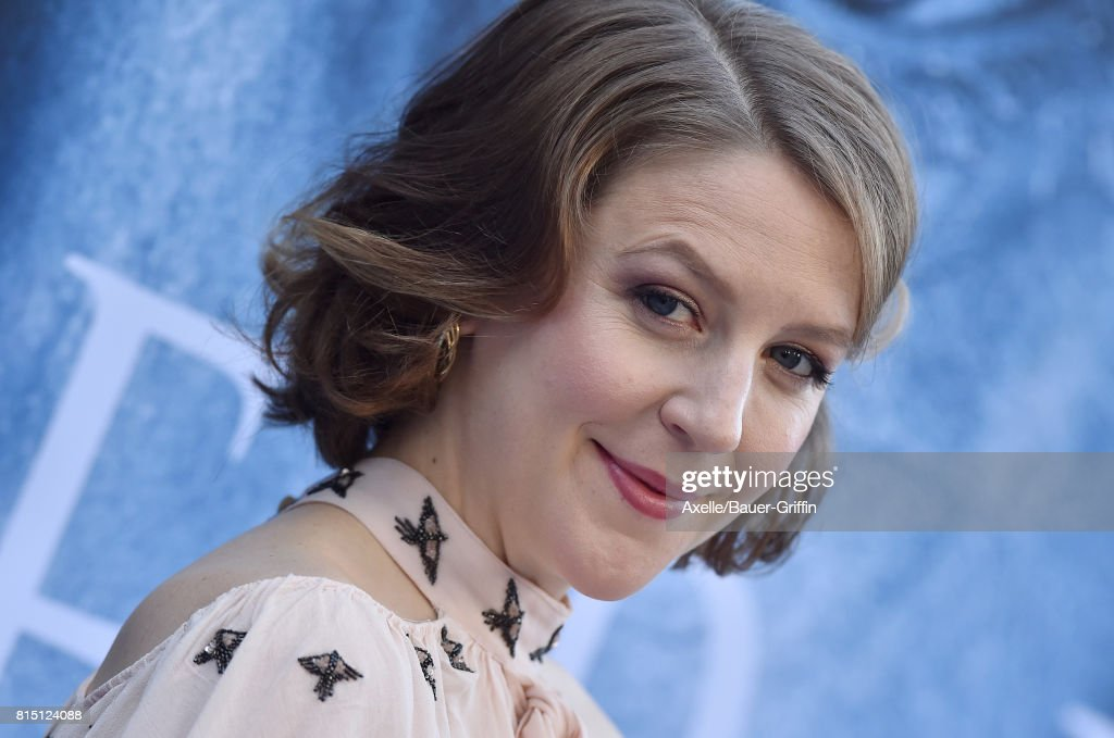 Actress Gemma Whelan arrives at the premiere of HBO's 'Game Of Thrones' Season 7 at Walt Disney Concert Hall on July 12, 2017 in Los Angeles, California.