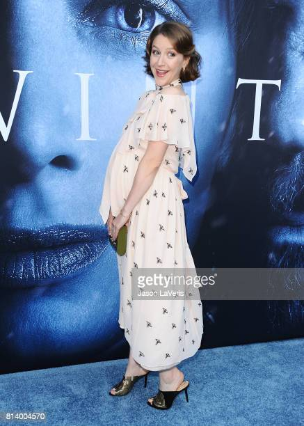 Actress Gemma Whelan attends the season 7 premiere of 'Game Of Thrones' at Walt Disney Concert Hall on July 12 2017 in Los Angeles California