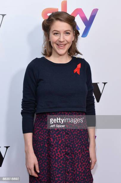Actress Gemma Whelan attends the 'Sky Women In Film and TV Awards' held at London Hilton on December 1 2017 in London England