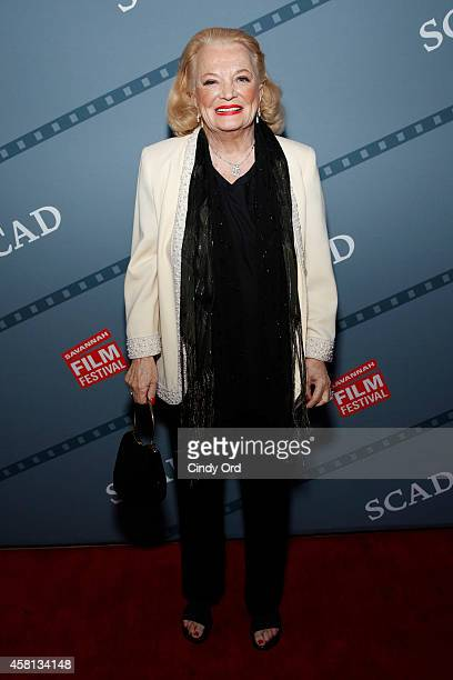 Actress Gena Rowlands attends the 17th Annual Savannah Film Festival on October 30, 2014 in Savannah, Georgia.