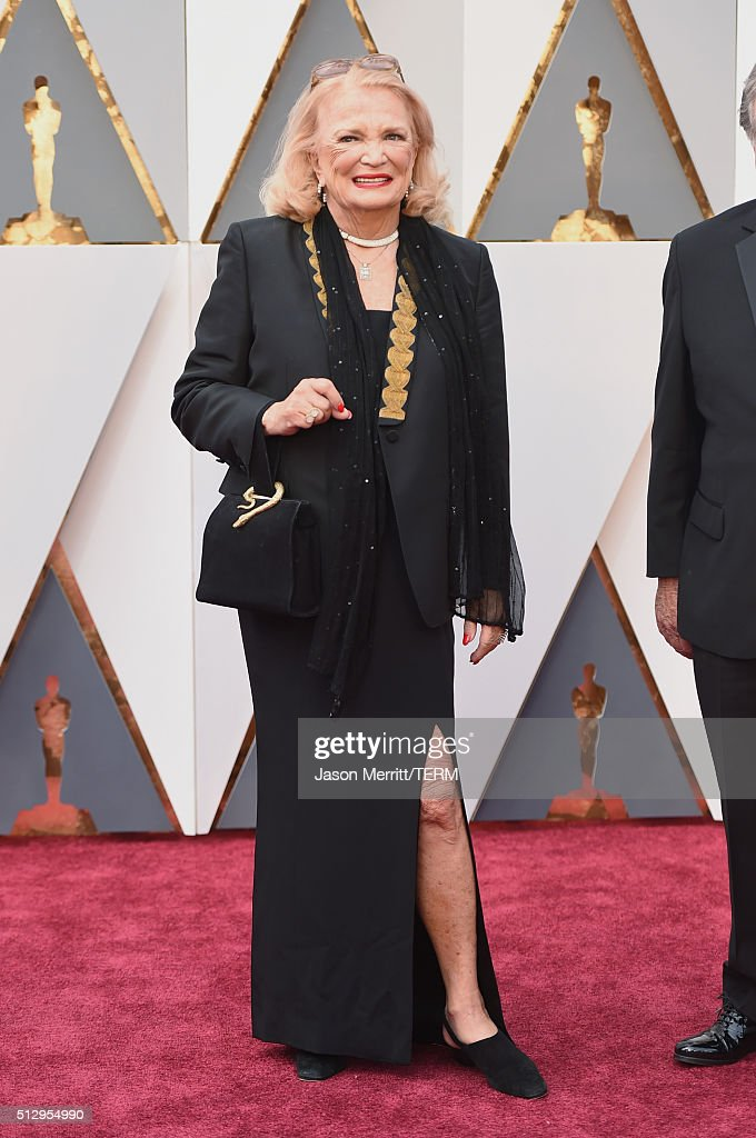 Actress Gena Rowlands attends the 88th Annual Academy Awards at Hollywood & Highland Center on February 28, 2016 in Hollywood, California.