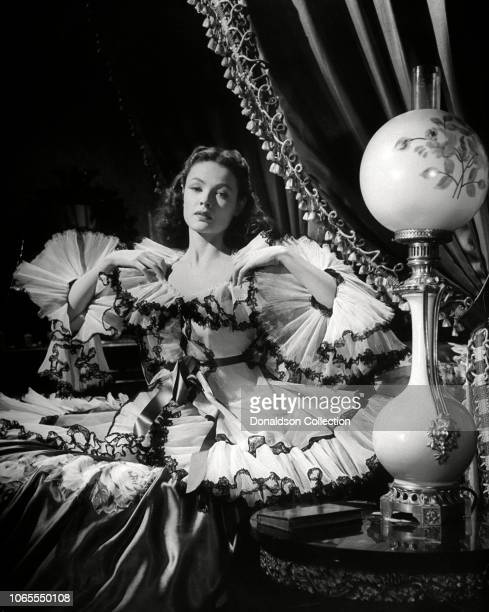 Actress Gene Tierney in a scene from the movie Dragonwyck