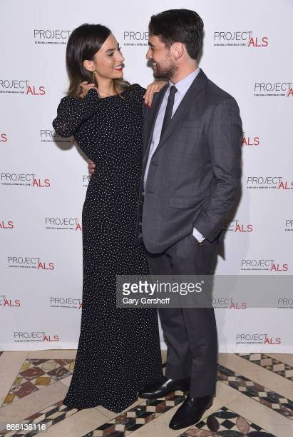 Actress Genesis Rodriguez and event host actor Vincent Piazza attend the 19th Annual Project ALS Benefit gala at Cipriani 42nd Street on October 25...