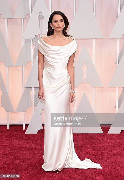 Actress Genesis Rodriguez attends the 87th Annual Academy Awards at Hollywood Highland Center on February 22 2015 in Hollywood California