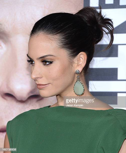"""Actress Genesis Rodriguez attends the Premiere Of Universal Pictures' """"Identity Thief"""" on February 4, 2013 in Westwood, California."""