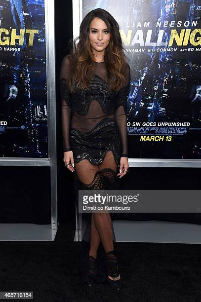 Actress Genesis Rodriguez attends the Run All Night New York Premiere at AMC Lincoln Square Theater on March 9 2015 in New York City