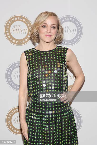 Actress Geneva Carr attends the 2015 Steinberg Playwright Awards at Lincoln Center Theater on November 16 2015 in New York City