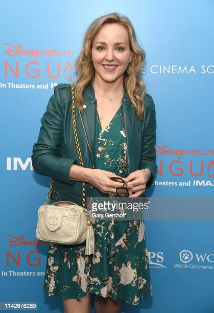 Actress Geneva Carr attends the Disneynature and Cinema Society special screening of 'Penguins' at AMC Lincoln Square Theater on April 14 2019 in New...