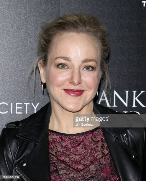Actress Geneva Carr attends the screening of DreamWorks and Universal Pictures' Thank You For Your Service hosted by The Cinema Society and Avion at...