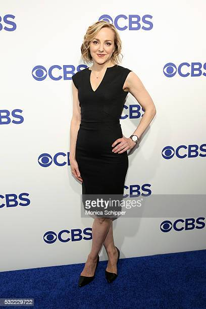 Actress Geneva Carr of CBS television series Bull attends the 2016 CBS Upfront at Oak Room on May 18 2016 in New York City