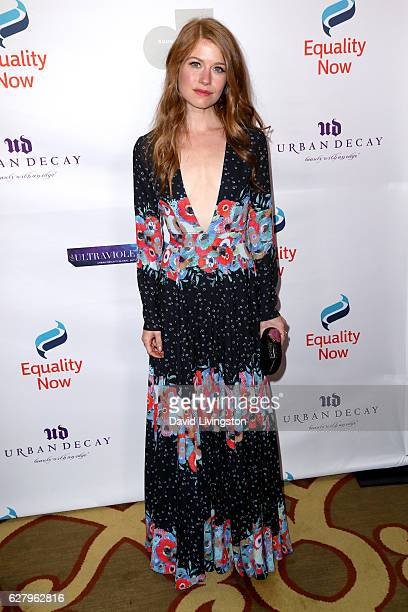 Actress Genevieve Angelson arrives at Equality Now's 3rd Annual Make Equality Reality Gala at Montage Beverly Hills on December 5 2016 in Beverly...