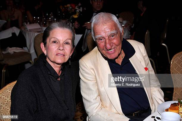 Actress Genevieve Bujold and actor Charles Gerard attend the 35th Annual Los Angeles Film Critics Association Awards at the InterContinental Hotel on...